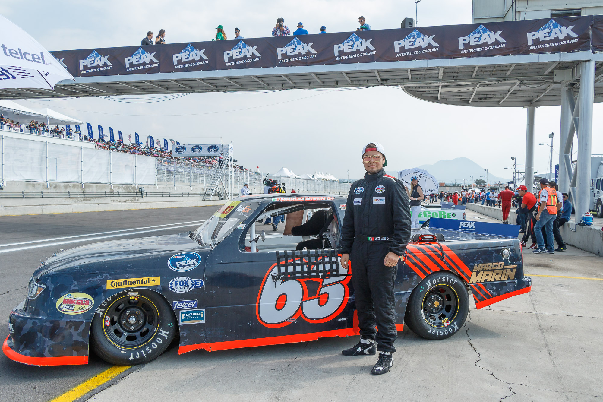 Marco Marín en el Top-10 de la serie Mikel´s Trucks