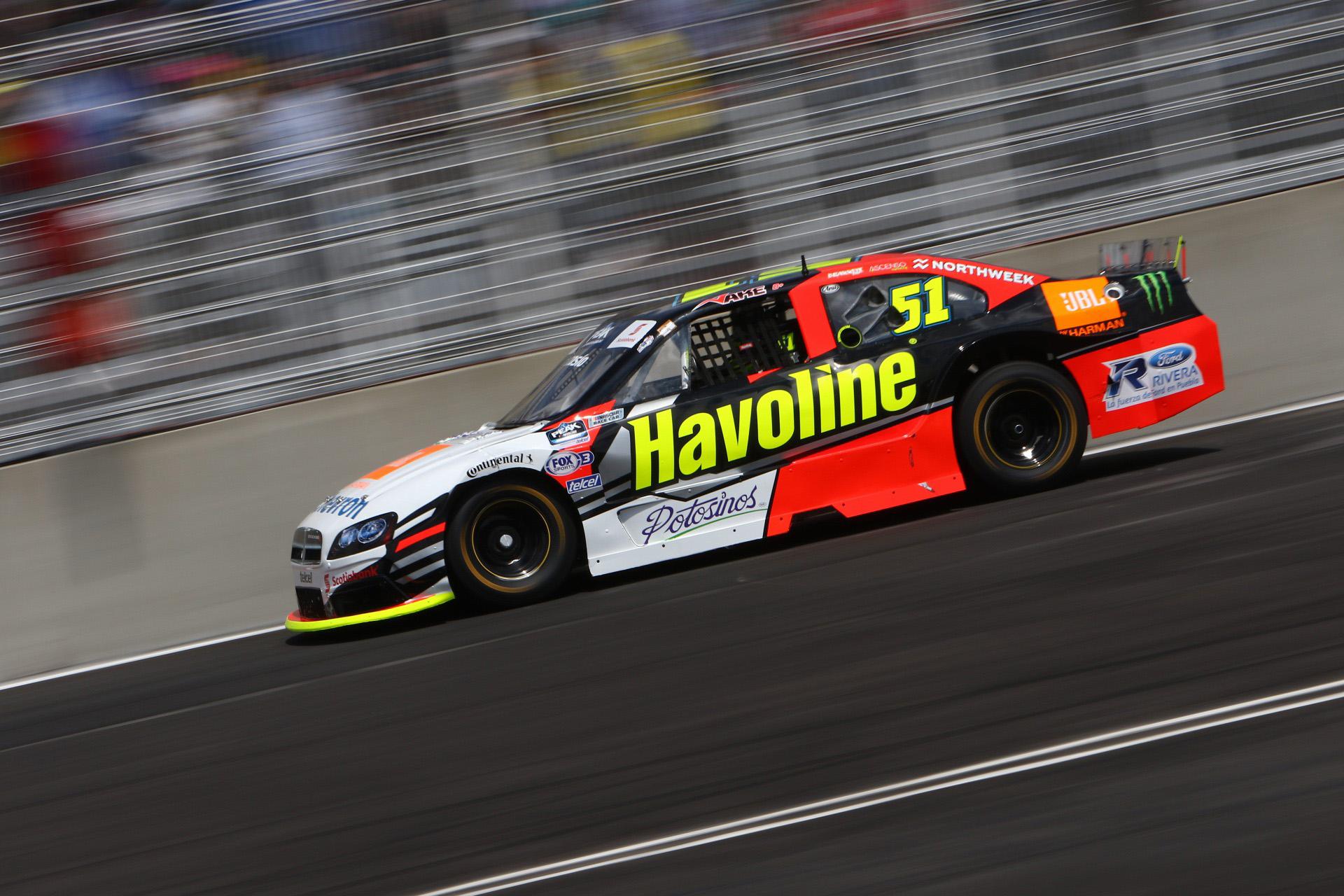 Jake Cosío logró su primera victoria en NASCAR Challenge